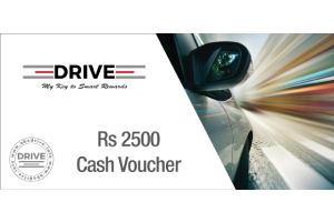 Cash Voucher Rs 2500